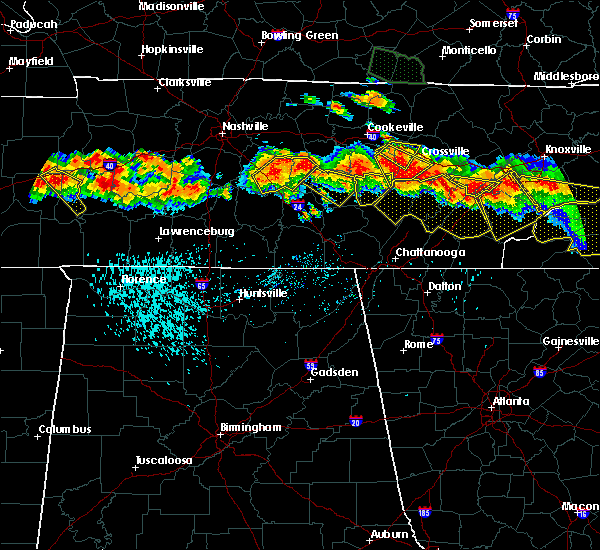 Radar Image for Severe Thunderstorms near Spencer, TN at 7/14/2015 3:57 PM CDT