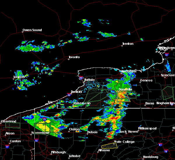 Radar Image for Severe Thunderstorms near Arkport, NY at 7/14/2015 5:04 PM EDT