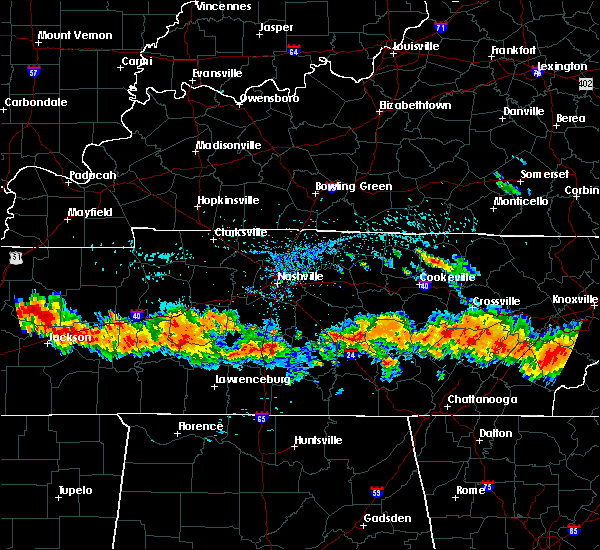 Radar Image for Severe Thunderstorms near Centertown, TN at 7/14/2015 4:09 PM CDT