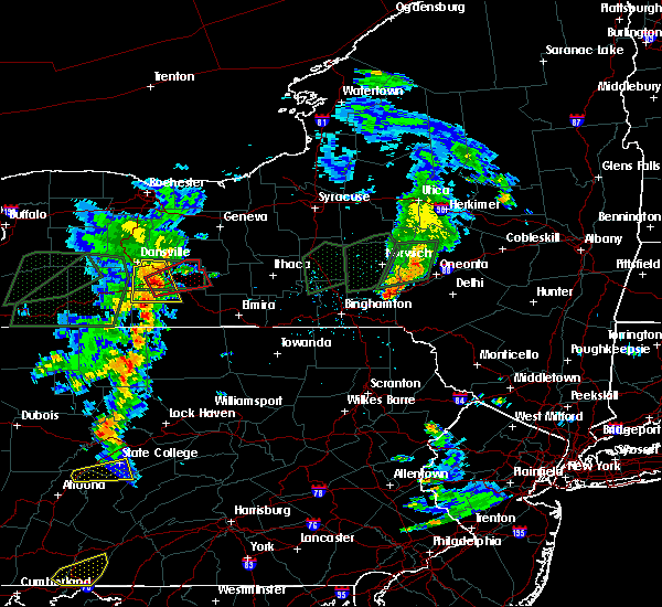 Radar Image for Severe Thunderstorms near Prattsburgh, NY at 7/14/2015 5:10 PM EDT