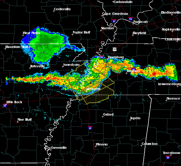 Radar Image for Severe Thunderstorms near West Memphis, AR at 7/14/2015 4:19 PM CDT