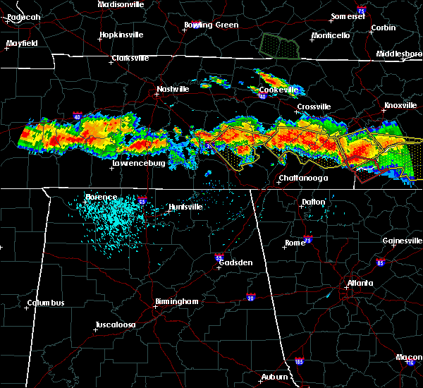 Radar Image for Severe Thunderstorms near Englewood, TN at 7/14/2015 5:20 PM EDT
