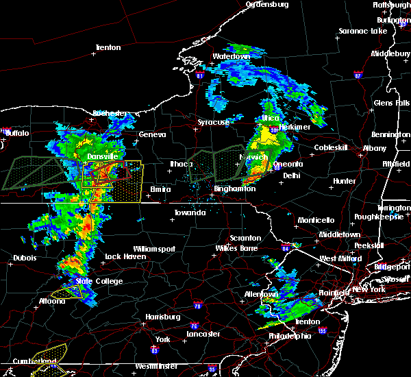 Radar Image for Severe Thunderstorms near Addison, NY at 7/14/2015 5:23 PM EDT