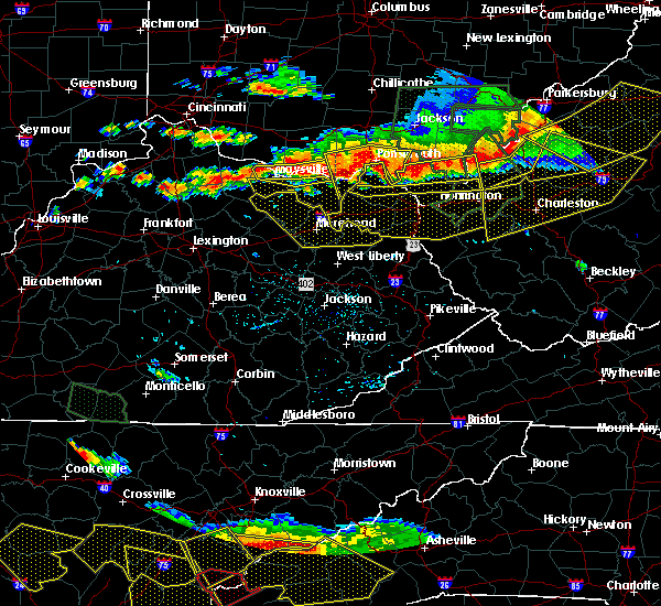 Radar Image for Severe Thunderstorms near Sardis, KY at 7/14/2015 5:27 PM EDT