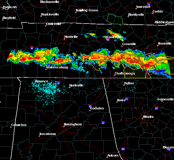 Radar Image for Severe Thunderstorms near Englewood, TN at 7/14/2015 5:27 PM EDT