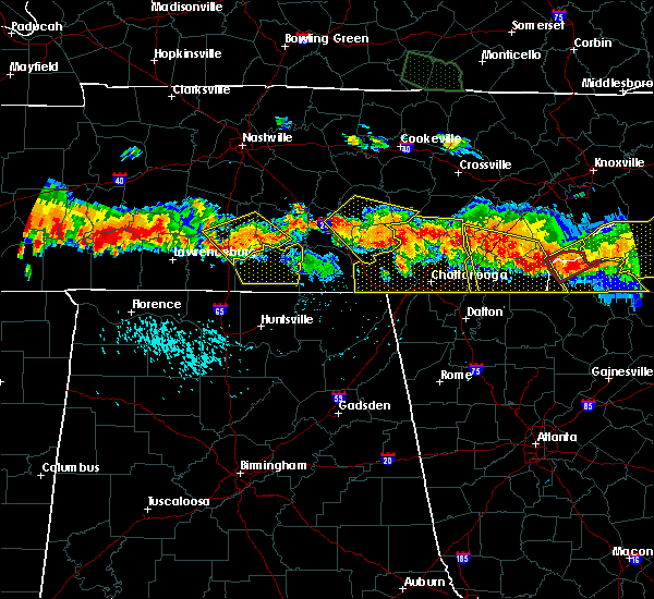 Radar Image for Severe Thunderstorms near Englewood, TN at 7/14/2015 5:46 PM EDT