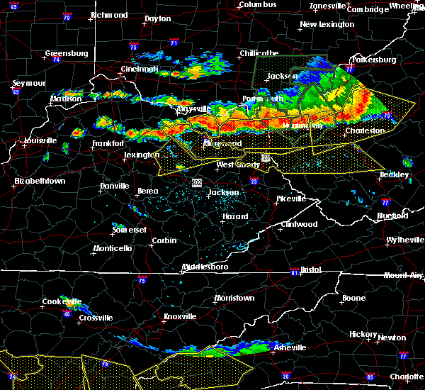 Radar Image for Severe Thunderstorms near Jeffersonville, KY at 7/14/2015 5:49 PM EDT