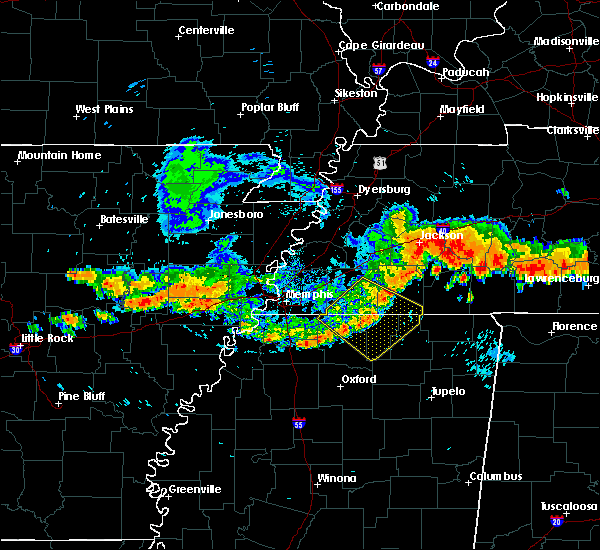 Radar Image for Severe Thunderstorms near Hornsby, TN at 7/14/2015 4:53 PM CDT