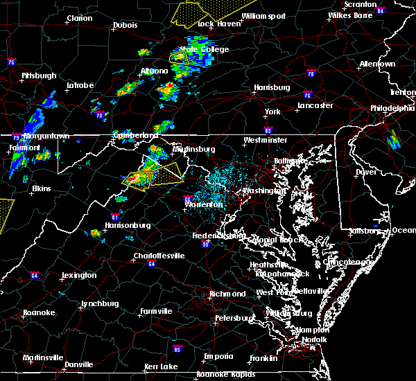 Radar Image for Severe Thunderstorms near Charles Town, WV at 7/14/2015 5:53 PM EDT