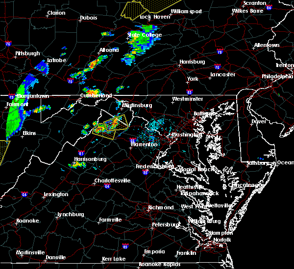 Radar Image for Severe Thunderstorms near Charles Town, WV at 7/14/2015 6:12 PM EDT