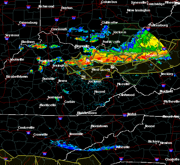 Radar Image for Severe Thunderstorms near Jeffersonville, KY at 7/14/2015 6:16 PM EDT