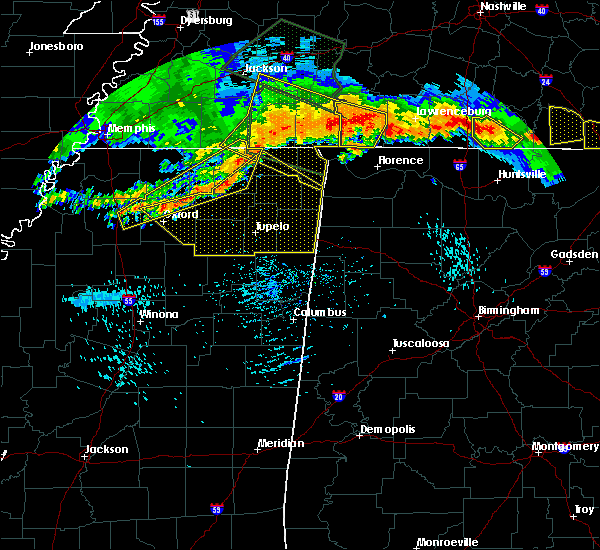 Radar Image for Severe Thunderstorms near Iuka, MS at 7/14/2015 5:39 PM CDT