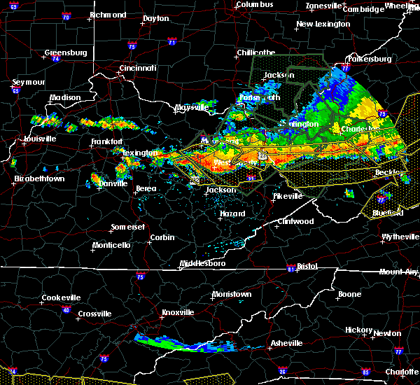 Radar Image for Severe Thunderstorms near Frenchburg, KY at 7/14/2015 6:41 PM EDT