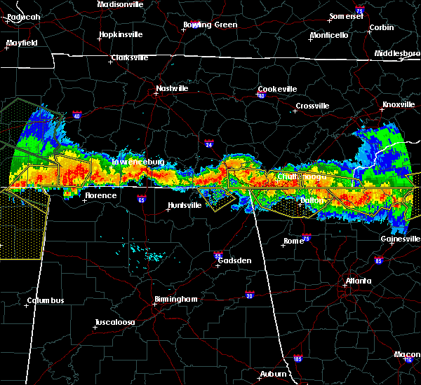 Radar Image for Severe Thunderstorms near Hytop, AL at 7/14/2015 5:48 PM CDT