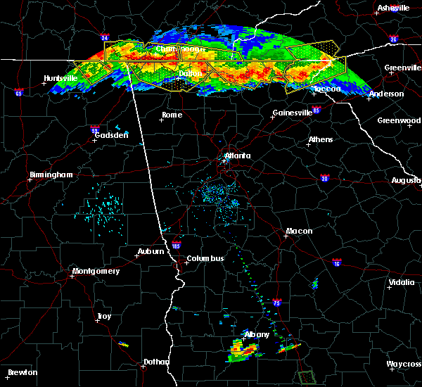 Radar Image for Severe Thunderstorms near Ellijay, GA at 7/14/2015 6:51 PM EDT