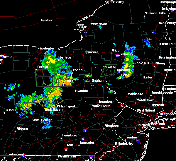 Radar Image for Severe Thunderstorms near West Elmira, NY at 7/14/2015 6:55 PM EDT