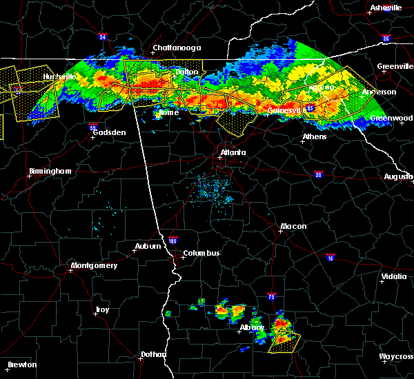 Radar Image for Severe Thunderstorms near Johns Creek, GA at 7/14/2015 7:46 PM EDT
