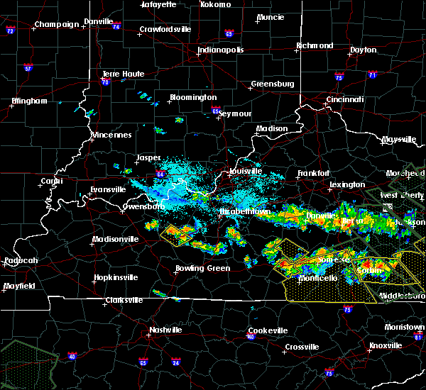 Radar Image for Severe Thunderstorms near Liberty, KY at 7/14/2015 8:52 PM EDT