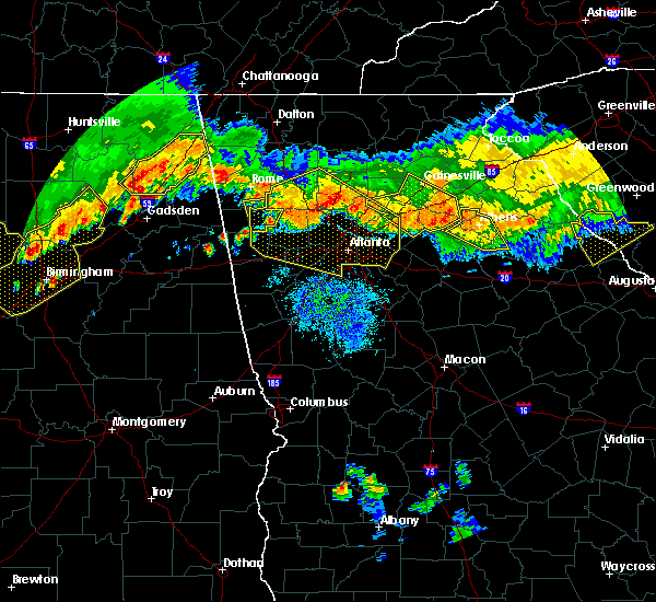 Radar Image for Severe Thunderstorms near Social Circle, GA at 7/14/2015 8:58 PM EDT