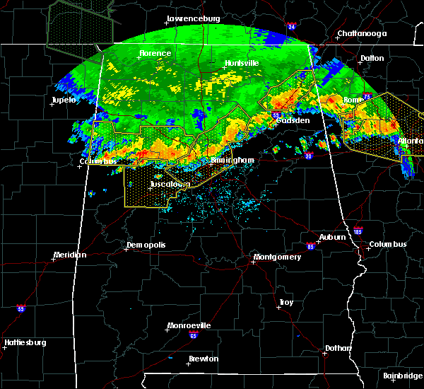 Radar Image for Severe Thunderstorms near Tuscaloosa, AL at 7/14/2015 8:02 PM CDT
