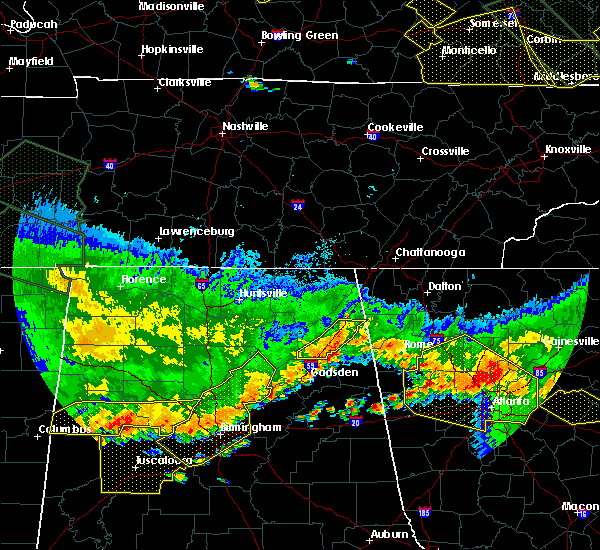 Radar Image for Severe Thunderstorms near Valley Head, AL at 7/14/2015 8:05 PM CDT