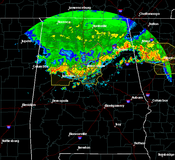 Radar Image for Severe Thunderstorms near Center Point, AL at 7/14/2015 8:26 PM CDT