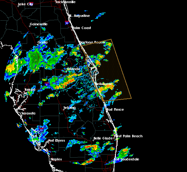 Radar Image for Severe Thunderstorms near Buenaventura Lakes, FL at 7/15/2015 2:39 PM EDT