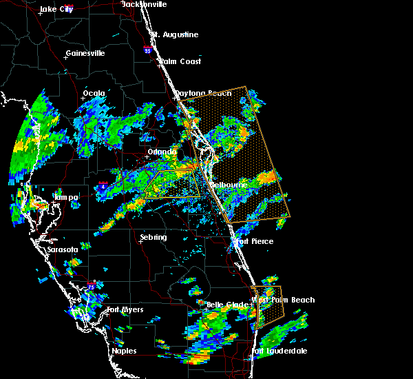 Radar Image for Severe Thunderstorms near Palm Bay, FL at 7/15/2015 3:14 PM EDT