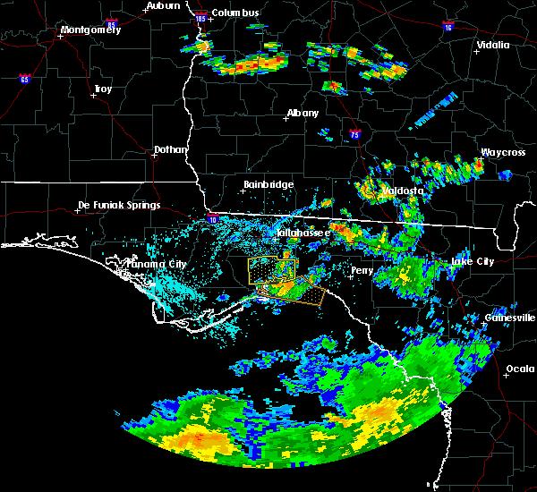Radar Image for Severe Thunderstorms near St. Marks, FL at 7/15/2015 3:42 PM EDT