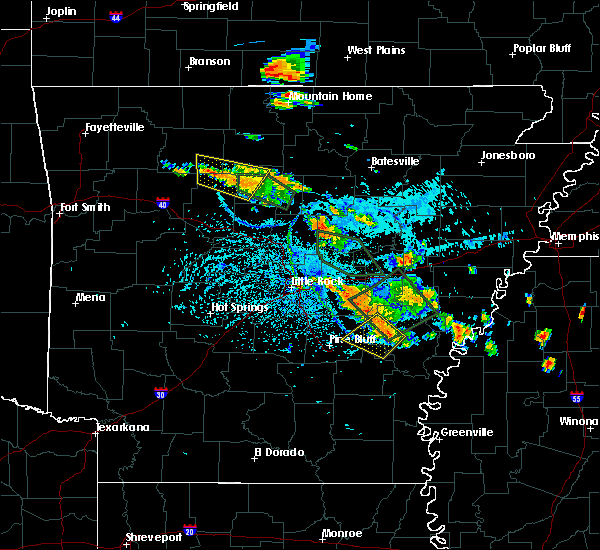 Radar Image for Severe Thunderstorms near Stuttgart, AR at 7/15/2015 4:34 PM CDT