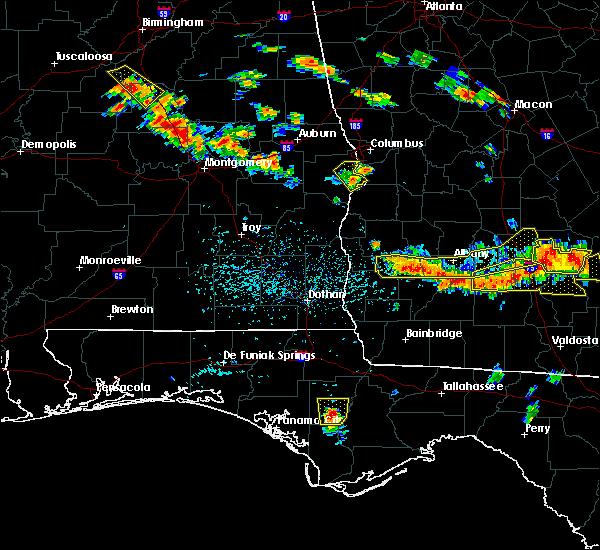 Radar Image for Severe Thunderstorms near Pelham, GA at 7/15/2015 5:48 PM EDT