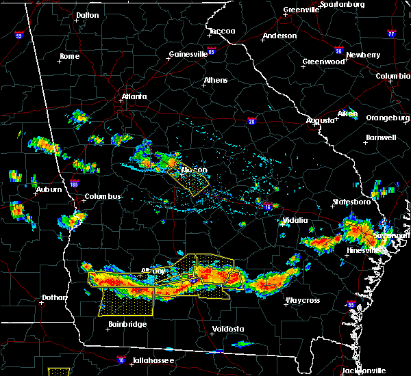 Radar Image for Severe Thunderstorms near Jeffersonville, GA at 7/15/2015 5:55 PM EDT