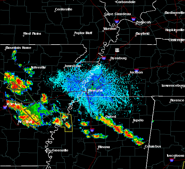 Radar Image for Severe Thunderstorms near Friars Point, MS at 7/15/2015 5:02 PM CDT