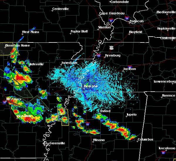 Radar Image for Severe Thunderstorms near Friars Point, MS at 7/15/2015 5:25 PM CDT