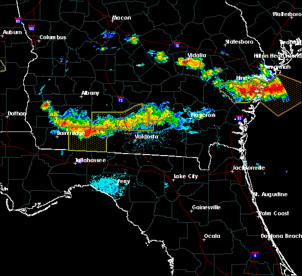 Radar Image for Severe Thunderstorms near Moultrie, GA at 7/15/2015 7:09 PM EDT