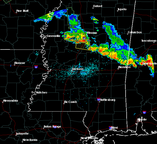 Radar Image for Severe Thunderstorms near Sallis, MS at 7/15/2015 8:00 PM CDT