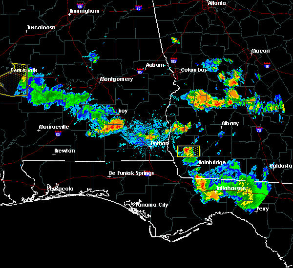 Radar Image for Severe Thunderstorms near Colquitt, GA at 7/15/2015 9:02 PM EDT