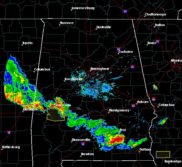 Radar Image for Severe Thunderstorms near Demopolis, AL at 7/15/2015 8:03 PM CDT