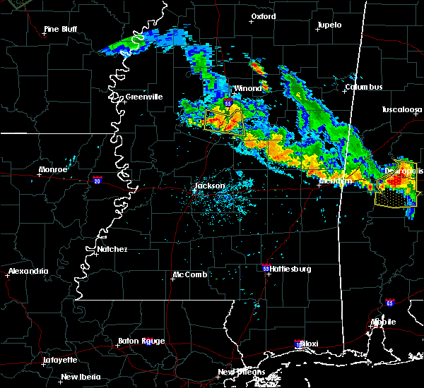 Radar Image for Severe Thunderstorms near Sallis, MS at 7/15/2015 8:18 PM CDT