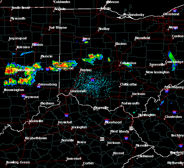Radar Image for Severe Thunderstorms near Whitewater, IN at 7/17/2015 4:10 PM EDT