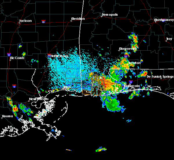 Radar Image for Severe Thunderstorms near Spanish Fort, AL at 7/17/2015 4:06 PM CDT