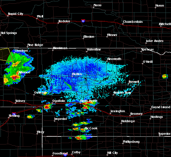Radar Image for Severe Thunderstorms near North Platte, NE at 7/17/2015 4:34 PM CDT