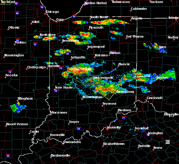 Radar Image for Severe Thunderstorms near Whitestown, IN at 7/17/2015 5:38 PM EDT