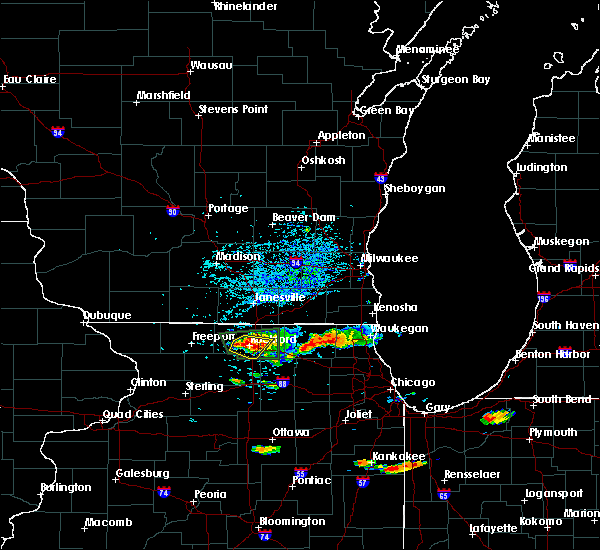 Radar Image for Severe Thunderstorms near Cherry Valley, IL at 7/17/2015 4:40 PM CDT