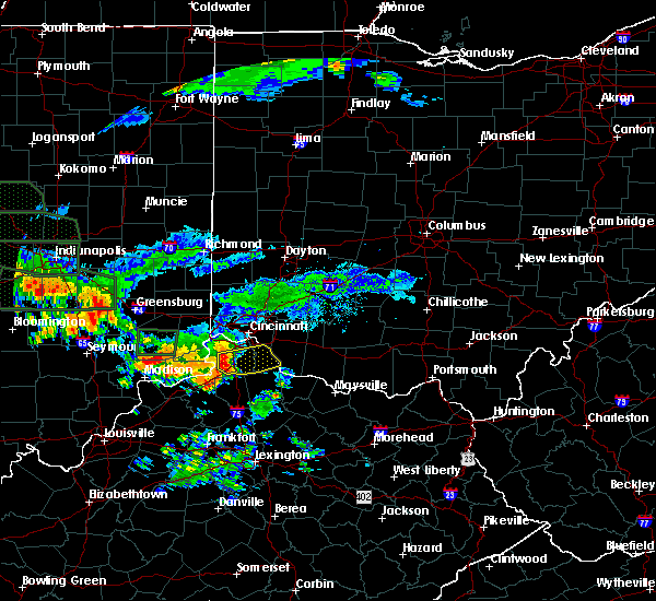 Radar Image for Severe Thunderstorms near Verona, KY at 7/17/2015 7:52 PM EDT