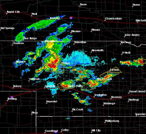 Radar Image for Severe Thunderstorms near Ord, NE at 7/17/2015 6:56 PM CDT