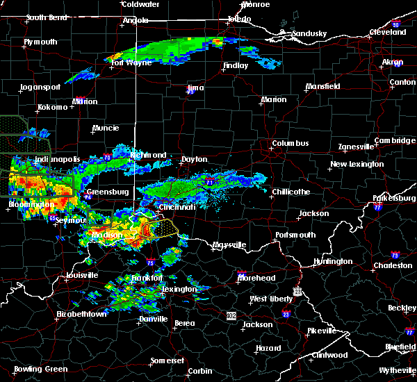 Radar Image for Severe Thunderstorms near Verona, KY at 7/17/2015 8:02 PM EDT