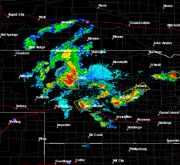 Radar Image for Severe Thunderstorms near North Platte, NE at 7/17/2015 7:08 PM CDT