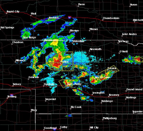 Radar Image for Severe Thunderstorms near Elyria, NE at 7/17/2015 7:12 PM CDT