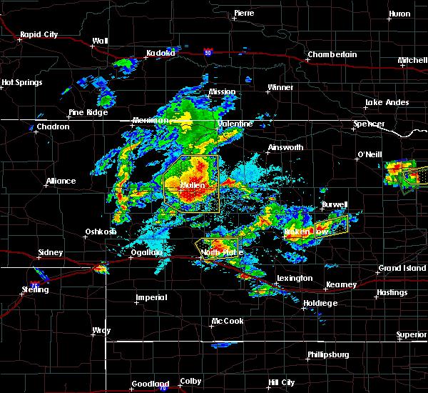 Radar Image for Severe Thunderstorms near Ord, NE at 7/17/2015 7:32 PM CDT